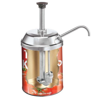 Server 83000 - CP-10 Condiment Pump, 3 quart capacity, stainless steel construc