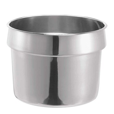 "Server 84131 - Vegetable Inset, 11 Qt. (10.4 L), 11-1/8"" Dia. X 8-1/4""H, Stainless Steel"