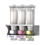 Server 80103 - Dry Dispener, Includes Triple Dispenser Rack, (4) Flavor Decals, (1) 24 Oz. & (2) 24 Oz. Bpa Free