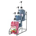 Server 88654 - Tiered Organizer, 3-Tier Organizer For 1 Gallon Jugs, Wire-Frame, Includes (4) Non-Skid Feet