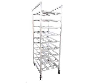 Serv-Ware CWP-ACR-9M - Aluminum Can Rack, Full Size, Mobile, 162 Can  Capacity,