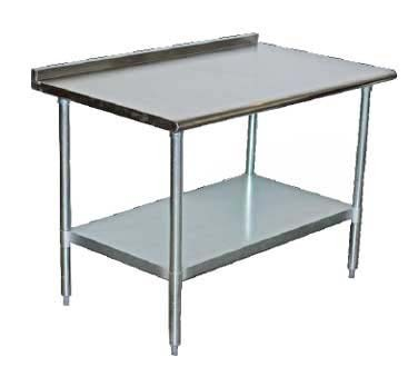 TCWPT ServWare Work Table X Series Stainless - Stainless steel work table 30 x 48