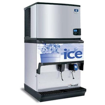 SerVend 2705723 - S-250 Countertop Ice & Water Dispenser, 250 lbs. ice capacity