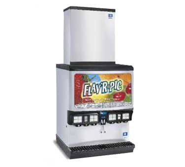 Multiplex FRP-250 - Ice & Beverage Dispenser, (16) beverage selections, 250-lb ice capacity