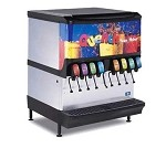 SerVend 2706259 - SV-200 Ice & Beverage Dispenser, (8) push button, 200 lbs. ice capacity