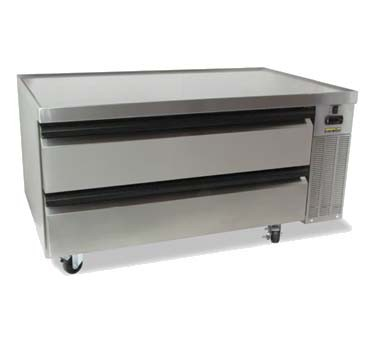 "Silver King SKRCB50H/C10 - High Capacity Refrigerated Chef Base, 50"", single section, (2) d"
