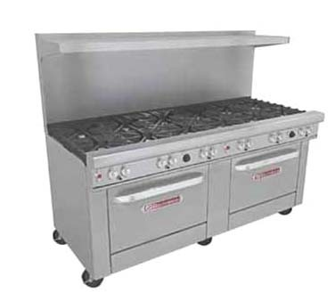 "Southbend 4721DD-3GR - Restaurant Range, gas, 72"", (6) burners, (1) 36"" griddle right"
