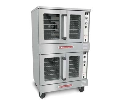 Southbend SLGB/22CCH - Convection Oven, gas, double-deck, bakery depth, cook-&-hold