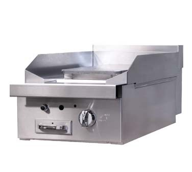 "Southbend P16C-P - Heavy Duty Range, gas, 16"" , 9-3/4"" plancha, 1/2"" plate, cabinet base"