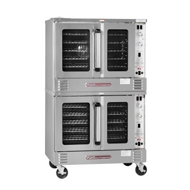 Southbend SLGS/22SC - Convection Oven, gas, double-deck, solid state controls