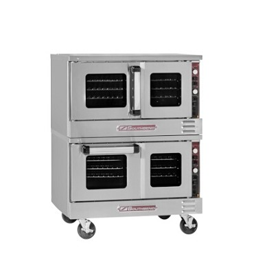Southbend TVES/20SC - Convection Oven, electric, low-profile, double-deck