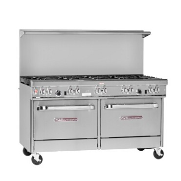 "Southbend 4601DD-4GR - Restaurant Range, gas, 60"", (2) burners, (1) 48"" griddle right"
