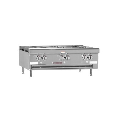 "Southbend HDO-36 - Countertop Hotplate, gas, 36"", (6) burners"