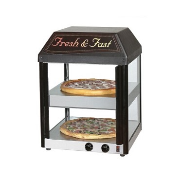 "Star 18MCP - Heated Countertop Pizza Merchandiser, Two 16"" Pizza Cap."