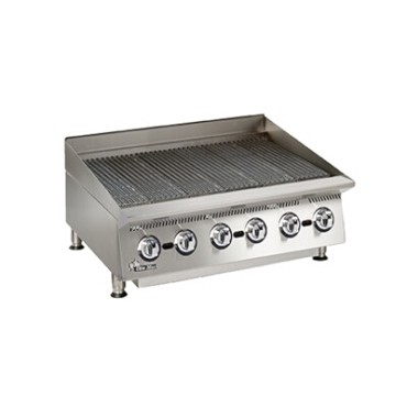 Star 8036CBB - Ultra-Max Gas Charbroiler, 120,000 BTU 36 in.