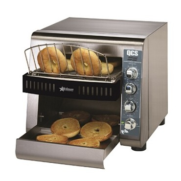 Star QCS2-1200B - Holman QCS Electric Conveyor Style Bagel Toaster, 1,200/Hour