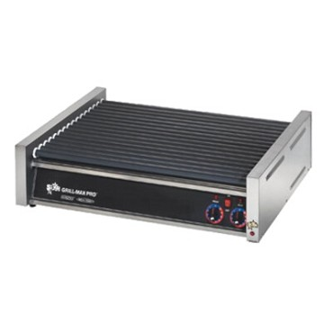 Star 50SCF - Grill-Max Pro Flat Hot Dog Grill w/Duratec Rollers