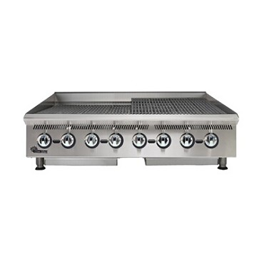 Star 8048CBB - Ultra-Max Lava Rock Gas Charbroiler, 48 in.