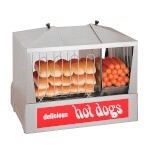 Star 35SSC - Hot Dog Steamer, side-by-side hot dog steame