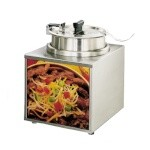 Star 3WLA-4H - Lighted Counter Top Food Warmer, 3-1/2 qt. Capacity