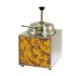 Star 3WLA-B - Lighted Countertop Butter Warmer, 3-1/2 qt.