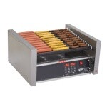 Star 45SCE - Star Grill-Max Pro Hot Dog Grill w/Duratec Rollers