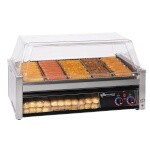 Star 50SCBBC - Grill-Max Pro Roller Style Hot Dog Grill w/Bun Holder