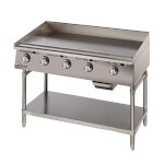 Star 872TA - Ultra-Max Gas Griddle w/Throttling Therm., 72 in.