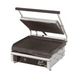 Star GX14IG - Grill Express Electric Two-Sided Grill, 14 in. Grooved Surface