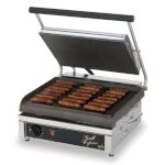 Star GX14IS - Grill Express Electric Two-Sided Grill, 14 in. Smooth Surface