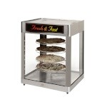 Star HFD3AP - Humidified Countertop Display Cabinet w/Pretzel Rack
