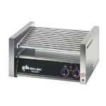 Star 30C - Grill-Max Roller Style Hot Dog Grill, Chrome Plated Rollers