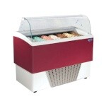 Stoelting CD-BR07-302-WP - Gelato Display Cabinet, 53-1/10