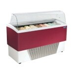 Stoelting CD-BR09-37-WP - Gelato Display Cabinet, 65-3/10