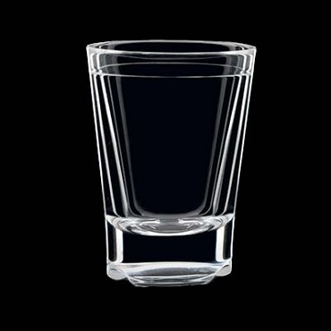 "Strahl 531253 - Shot Glass, 1-1/4 oz., 2-2/5""H, virtually unbreakable (Case of 12)"
