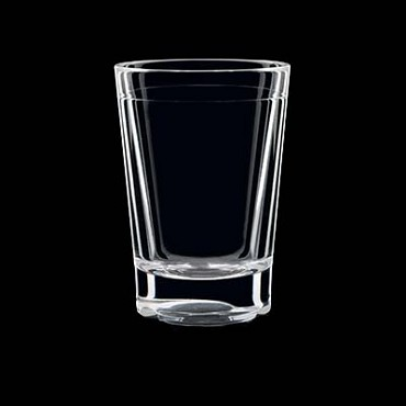"Strahl 532503 - Shot Glass, 2-1/2 oz., 2-3/5""H, virtually unbreakable (Case of 12)"