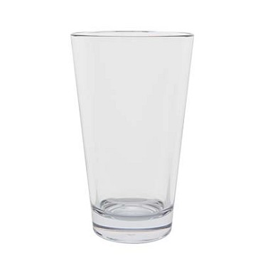 Hospitality 400203 - Strahl Mixing/Pint Glass, 20 oz. capacity, crystal clear (Case of 12)