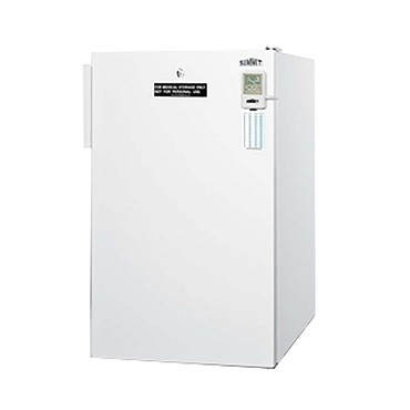 Summit FF511LMED - Accucold Medical Compact Refrigerator, 4.1 cu. ft. capacity