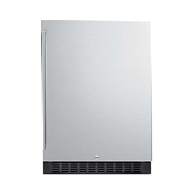 Summit FF64BSS - All-Refrigerator, built-in or freestanding, 4.6 cu.ft.