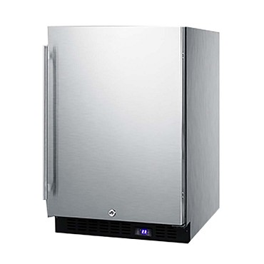 Summit SCFF53BCSS - All-Freezer, built-in or freestanding, 4.7 cu.ft.