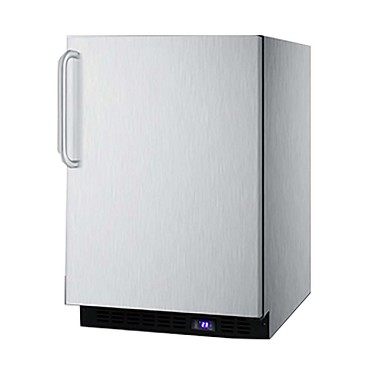 Summit SCFF53BXCSSTB - All-Freezer, built-in or freestanding, 4.7 cu.ft.
