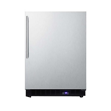 Summit SCFF53BXSSHV - All-Freezer, built-in or freestanding, 4.7 cu.ft.