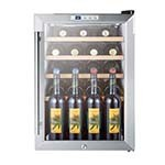 Summit SCR312LWC2 - Wine Cellar, Reach-In, Single-Section, 2.5 cu. ft., (22) bottle capacity
