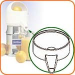 Sunkist 10B - Plastic Spout Only, included with part #1 bowl assembly, for Jui
