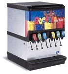 Multiplex 2706071 - Ice & Beverage Dispenser, countertop, (6) valves, 150 lbs. ice capacity