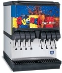 Multiplex 2706076 - Ice & Beverage Dispenser, countertop, (8) valves, 175 lbs. ice capacity