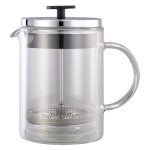 Service Ideas T499SR - French Coffee Press, 0.6 liter, 4-3/8