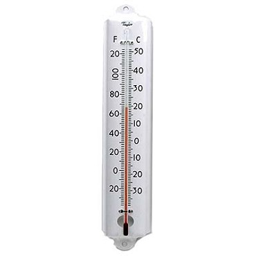 Taylor Thermometer 1105J -Cold/Dry Storage Thermometer, 12 in.