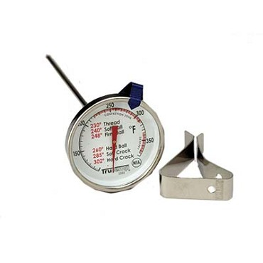 Taylor Thermometer 3505 - TruTemp Candy/Jelly/Deep Fry, 6 in.