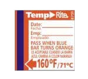Taylor Precision 8751 - Temperature Sensor, TempRite Adhesive Dishwasher Labels (24 Per Pack)